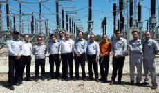 بازدید و آموزش پرسنل سازمان از پست فشار قوی برق