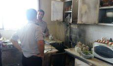 آتش سوزی شرکت تعاونی