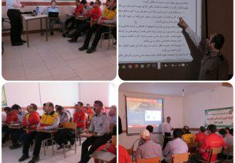 کلاس آموزش اطفای حریق
