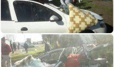 تصادف خودروی رانا