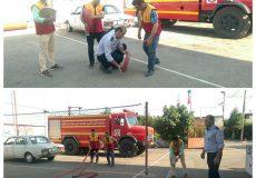 آموزش ایمنی و آتش نشانی