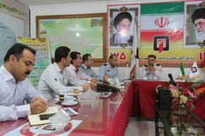 جلسه هماهنگی و یکپارچگی ورزشی اتش نشانان شرق مازندران
