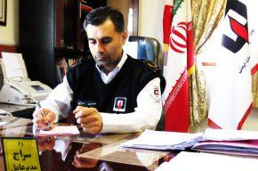 پیام تبریک مدیرعامل سازمان اتش نشانی بهشهر به مناسبت فرارسیدن ۷ مهر روز ایمنی و اتش نشانی