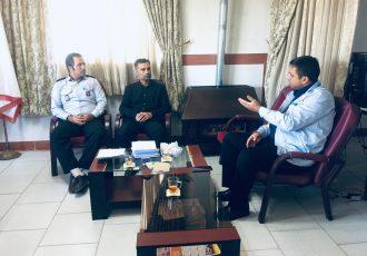 جلسه هماهنگی با اداره برق پیرامون تامین ایمنی عزاداران حسینی