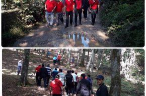 اولین همایش پیاده روی ویژه آتش نشانان شرق استان مازندران