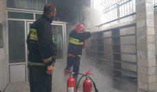 آتش سوزی کنتور برق