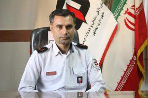 حسین سراجی کارشناس آتش نشانی مدیر عامل سازمان آتش نشانی و خدمات ایمنی شهرداری بهشهر