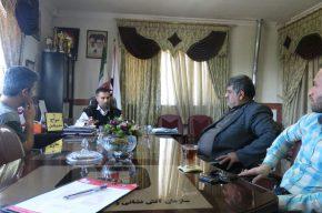 جلسه هماهنگی و برنامه ریزی مدیر عامل با مدیران مسکن مهر