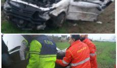 واژگونی خودروی ساندرو