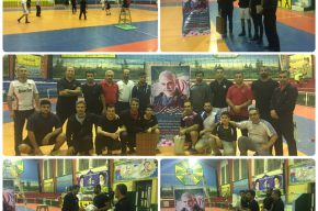 برگزاری مسابقات والیبال درون سازمانی