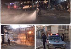 ۰۳ اردیبهشت ۹۹ ضدعفونی سطح شهر