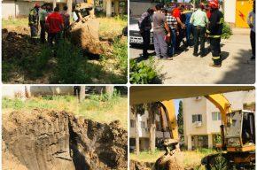 حادثه نشتی گاز شهری در مسکن مهر
