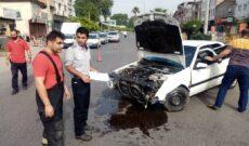 انحراف و واژگونی خودروی پژو پرشیا در گراییل محله