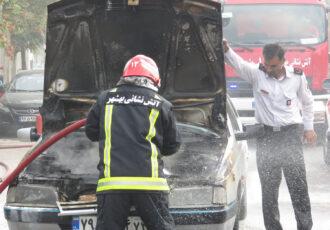 هشدار جدی در خصوص افزایش آتش سوزی در خودروها