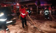 آتش سوزی خودروی پژو 405