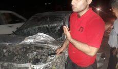تصادف دو دستگاه خودروی پراید