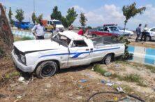 واژگونی خودروی مزدا